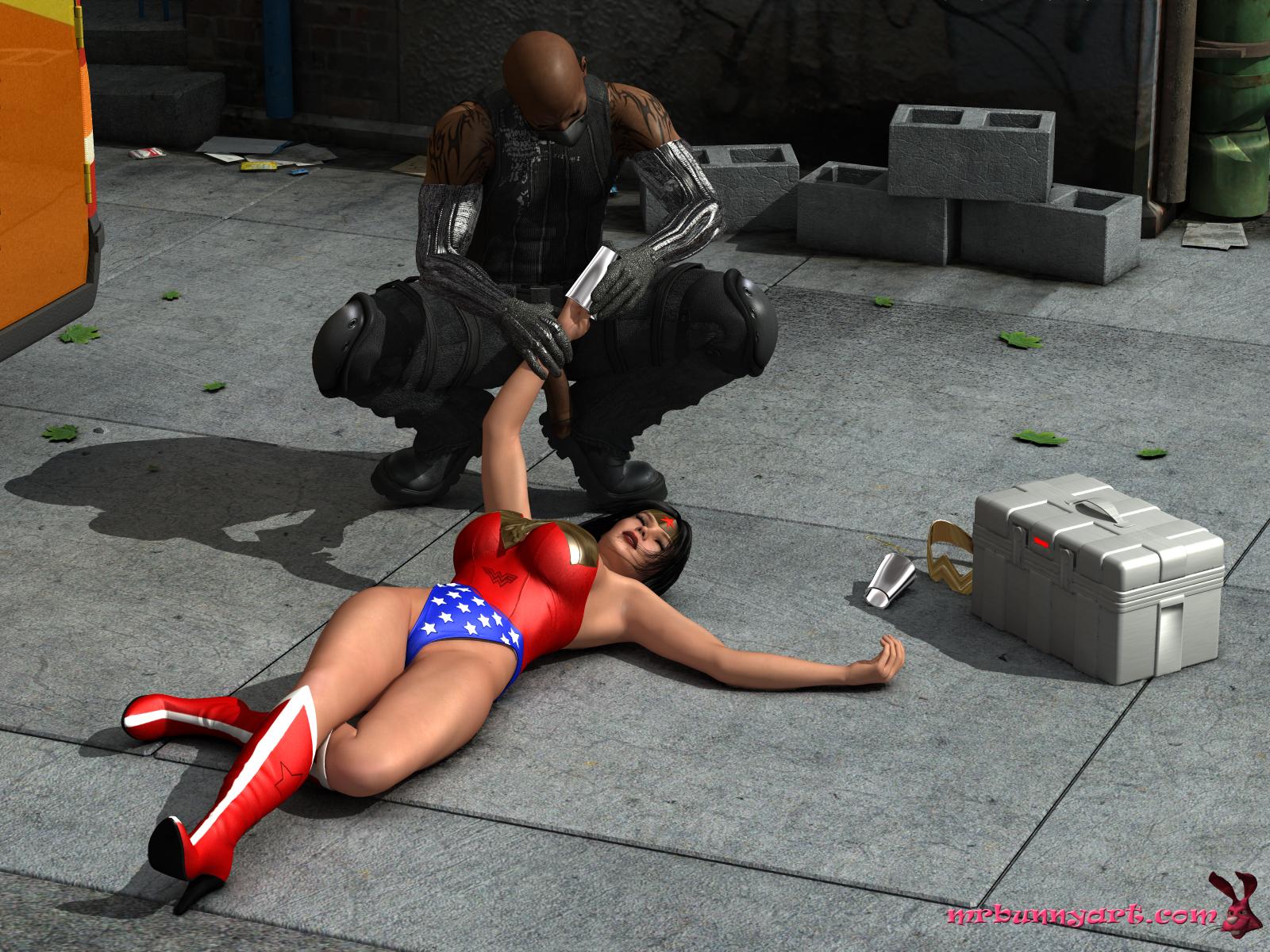 Wonder Woman vs Cain (Russian) - page07 DC Comics,Wonder Woman,  xxx porn rule34
