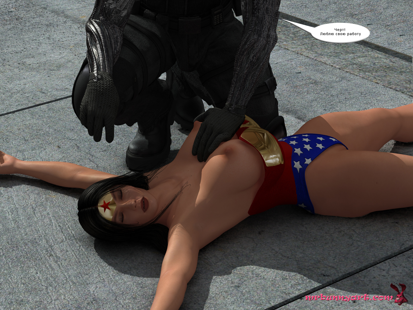 Wonder Woman vs Cain (Russian) - page09 DC Comics,Wonder Woman,  xxx porn rule34