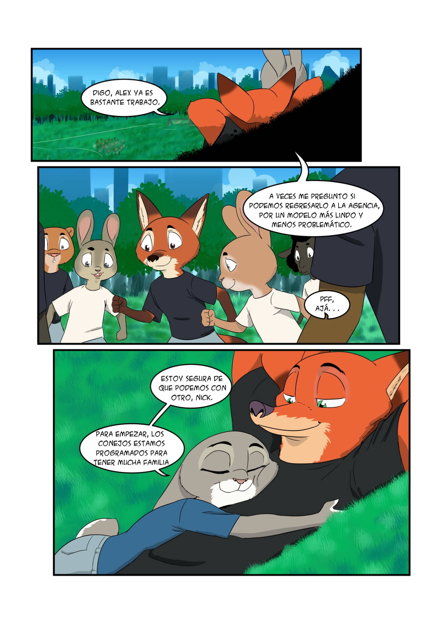 Breed All About It (Spanish) - page02 Zootopia,  xxx porn rule34
