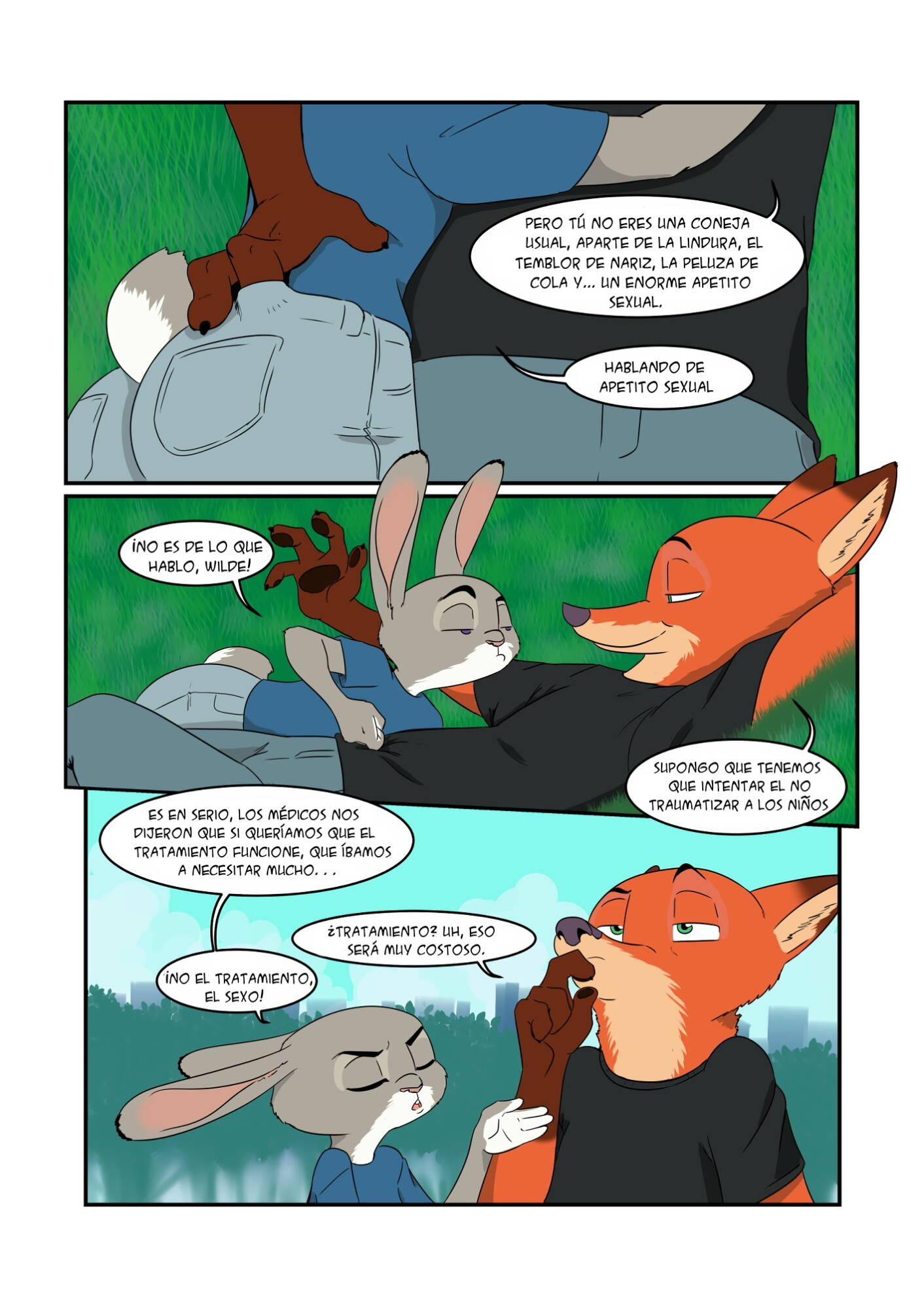 Breed All About It (Spanish) - page03 Zootopia,  xxx porn rule34