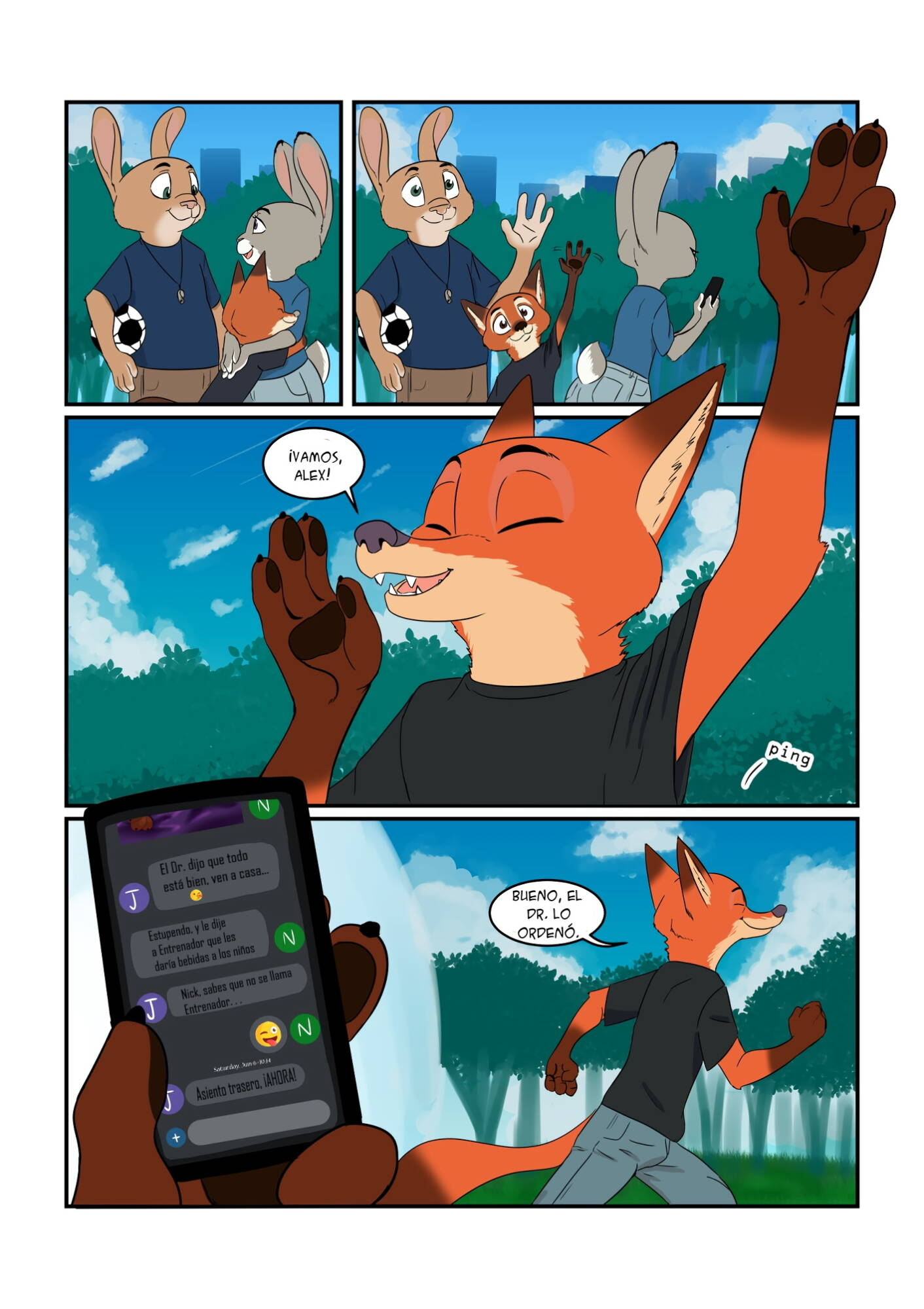 Breed All About It (Spanish) - page05 Zootopia,  xxx porn rule34