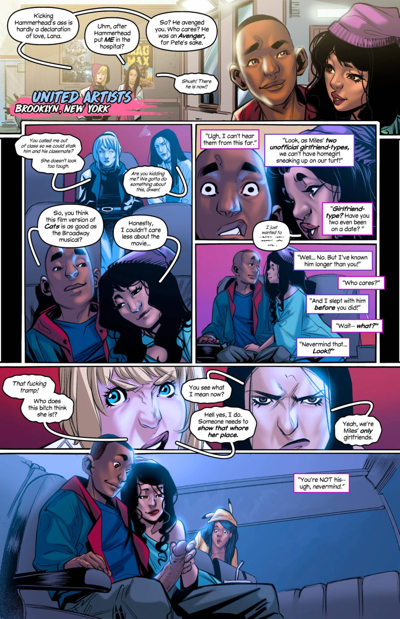 Weaving Fluids #4 (English) - page01 Marvel Universe,Spider-Man,  xxx porn rule34