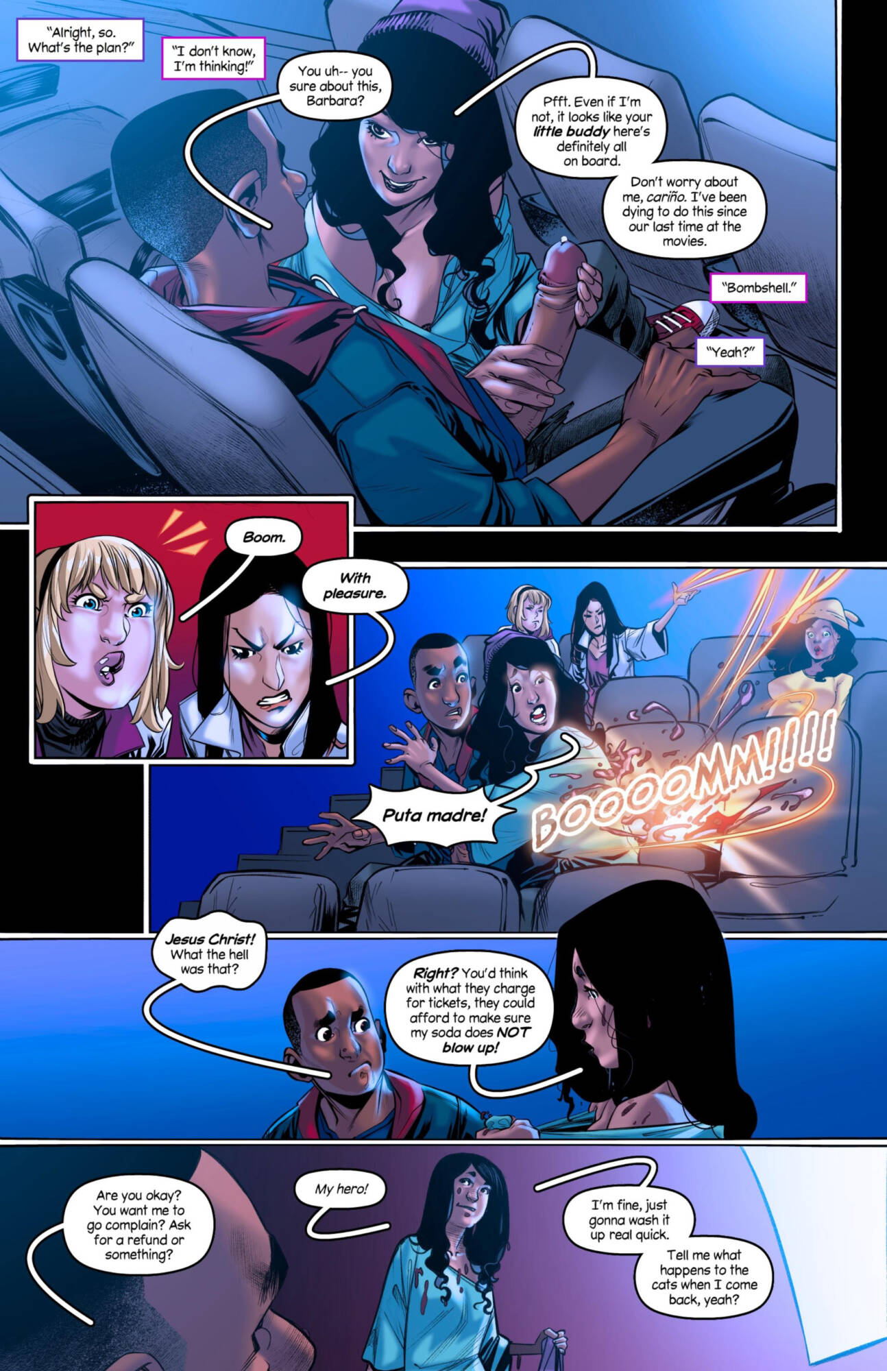 Weaving Fluids #4 (English) - page02 Marvel Universe,Spider-Man,  xxx porn rule34