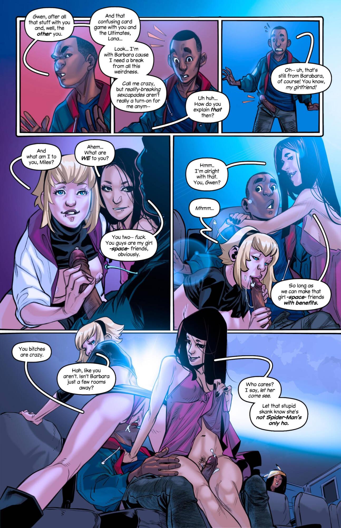 Weaving Fluids #4 (English) - page04 Marvel Universe,Spider-Man,  xxx porn rule34