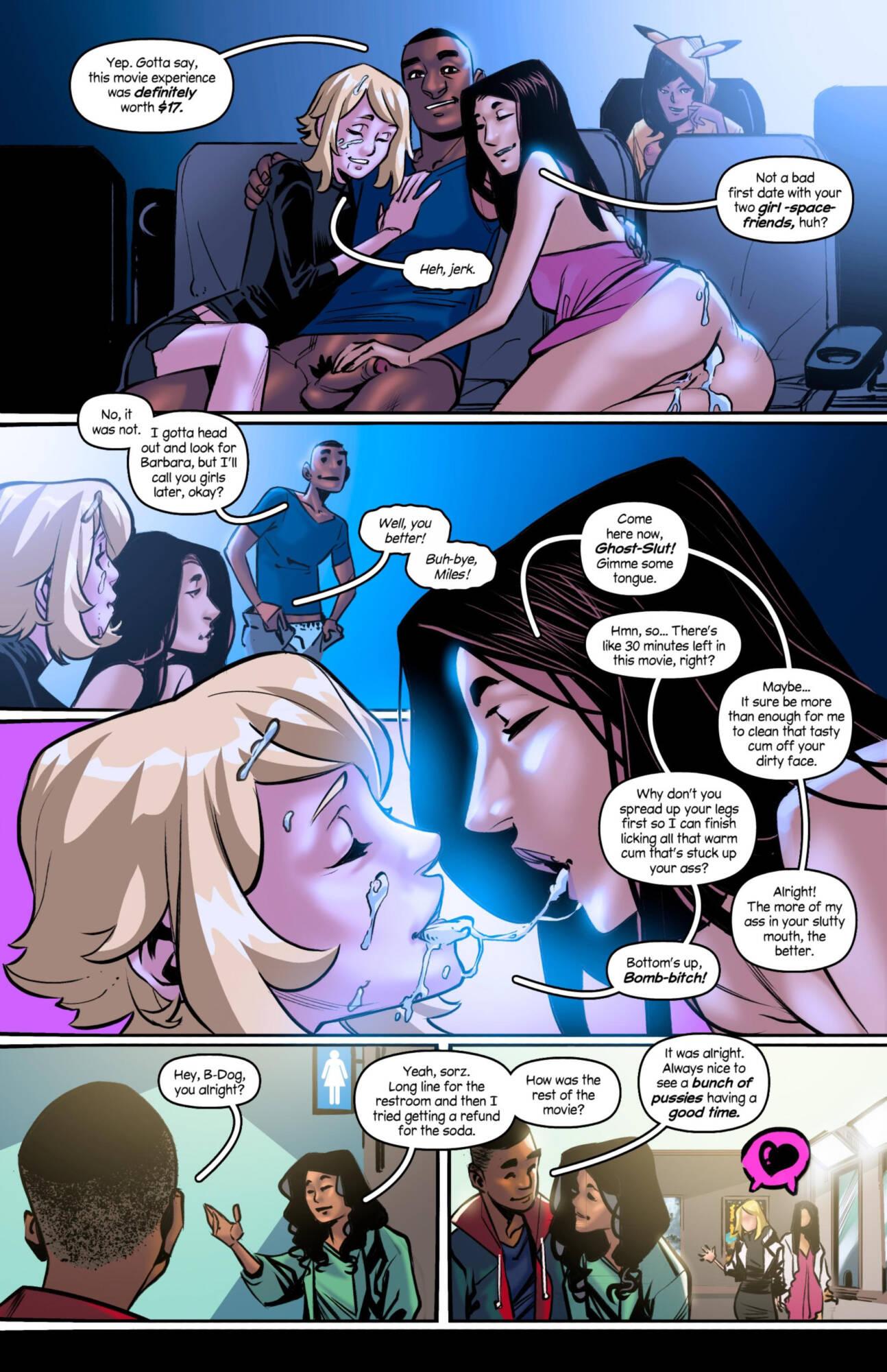 Weaving Fluids #4 (English) - page08 Marvel Universe,Spider-Man,  xxx porn rule34