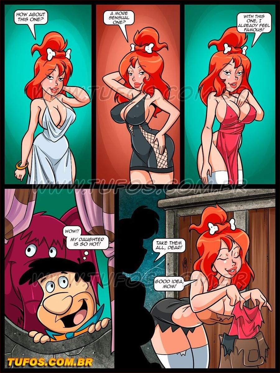 Os FlinTsToons 7 (English) - page02 Flintstones,  xxx porn rule34