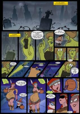 Haunted Night (English) - page01 BurnButt