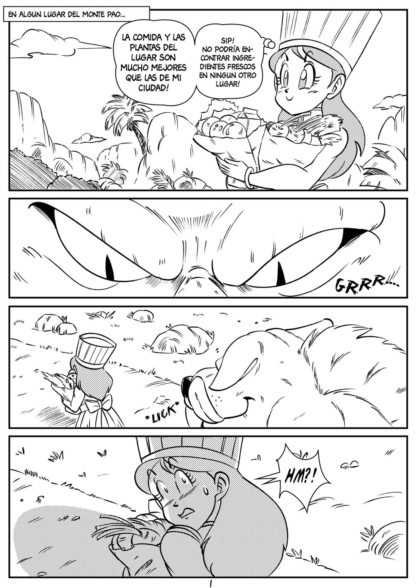 Kooky Cook (Spanish) - page01 Dragon Ball,  xxx porn rule34