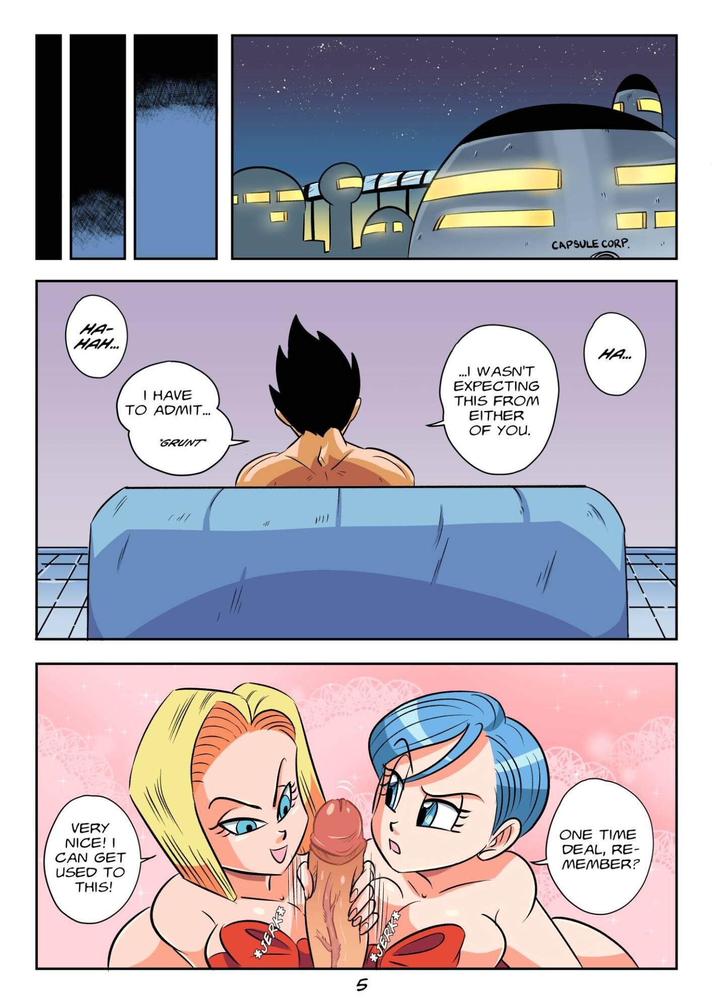 Vegeta's Gift (English) - page05 Dragon Ball,  xxx porn rule34
