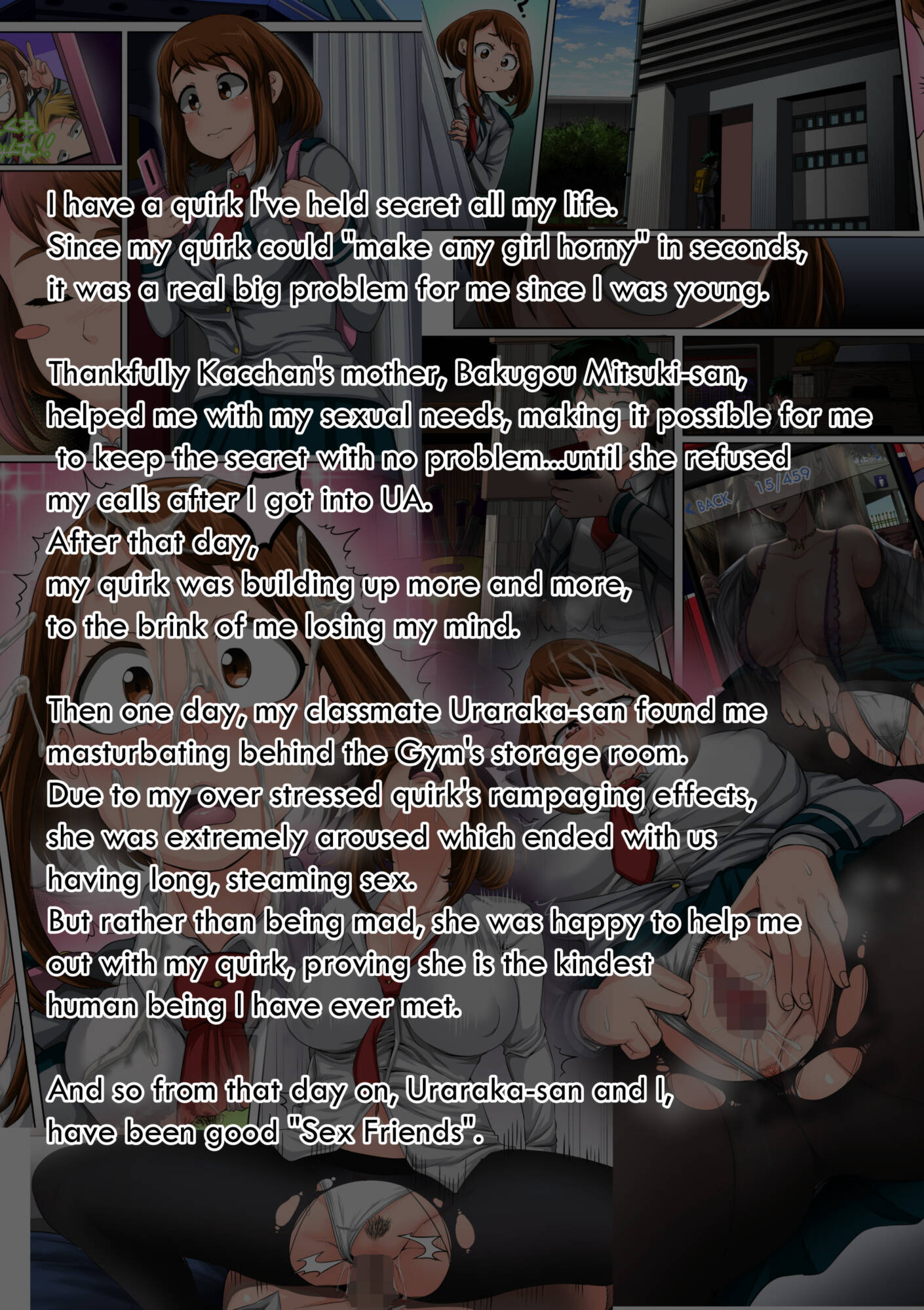 My Harem Academia 04 - Ch1 (English) - page03 Info My Hero Academia,  xxx porn rule34