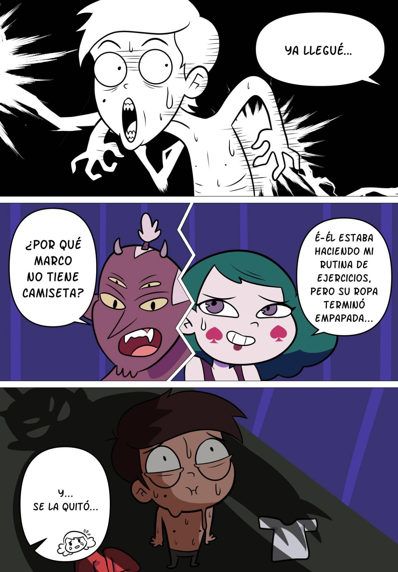 La Hospitalidad de Eclipsa (Spanish) - page05 Star Vs The Forces Of Evil,  xxx porn rule34