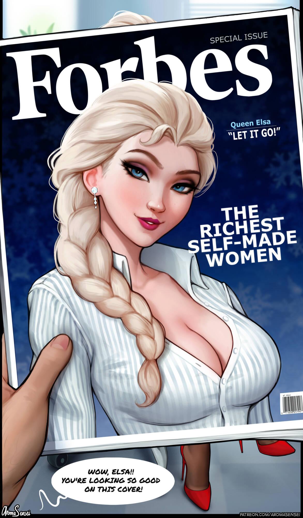 Elsa Interview (English) - page01 Frozen,  xxx porn rule34