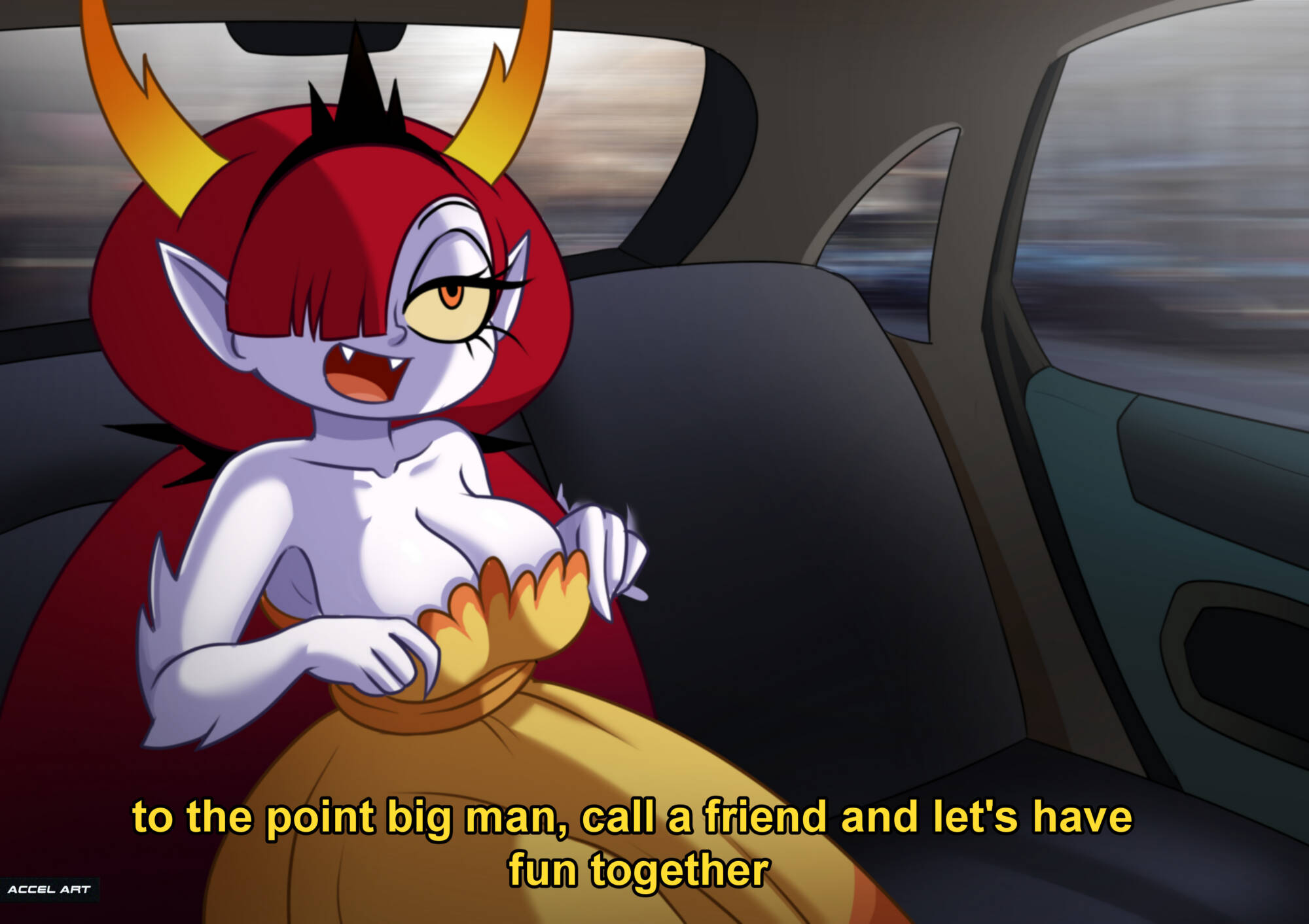 Hekapoo - Waifu Taxi (English) - page01 Star Vs The Forces Of Evil,  xxx porn rule34