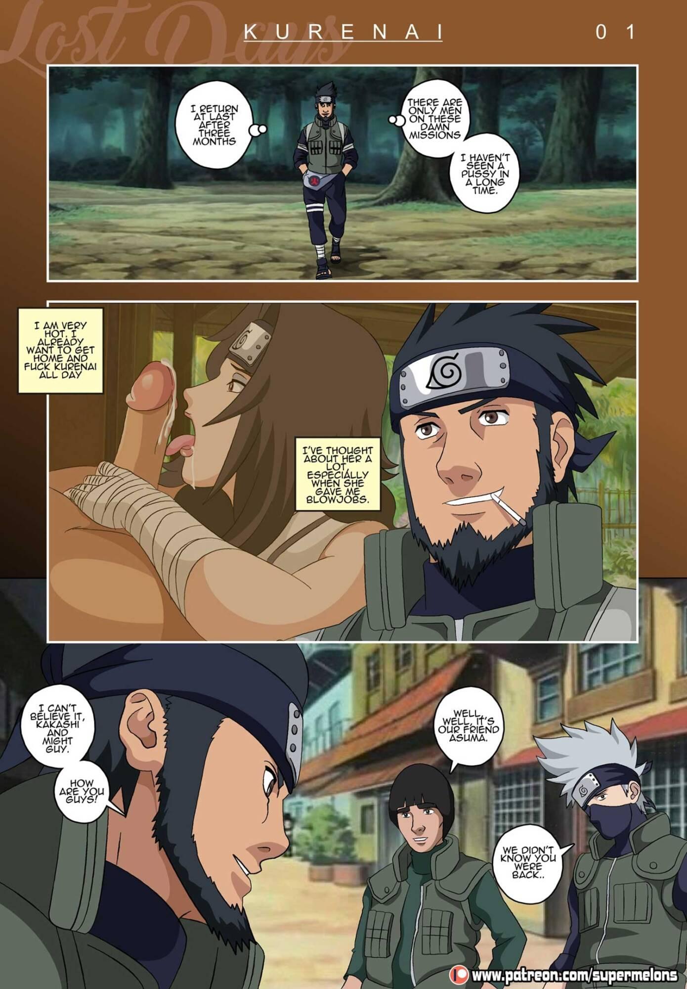Lost Days (English) - page01 Naruto,  xxx porn rule34
