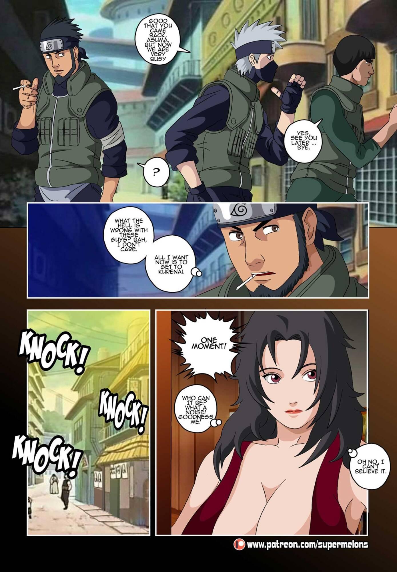 Lost Days (English) - page02 Naruto,  xxx porn rule34
