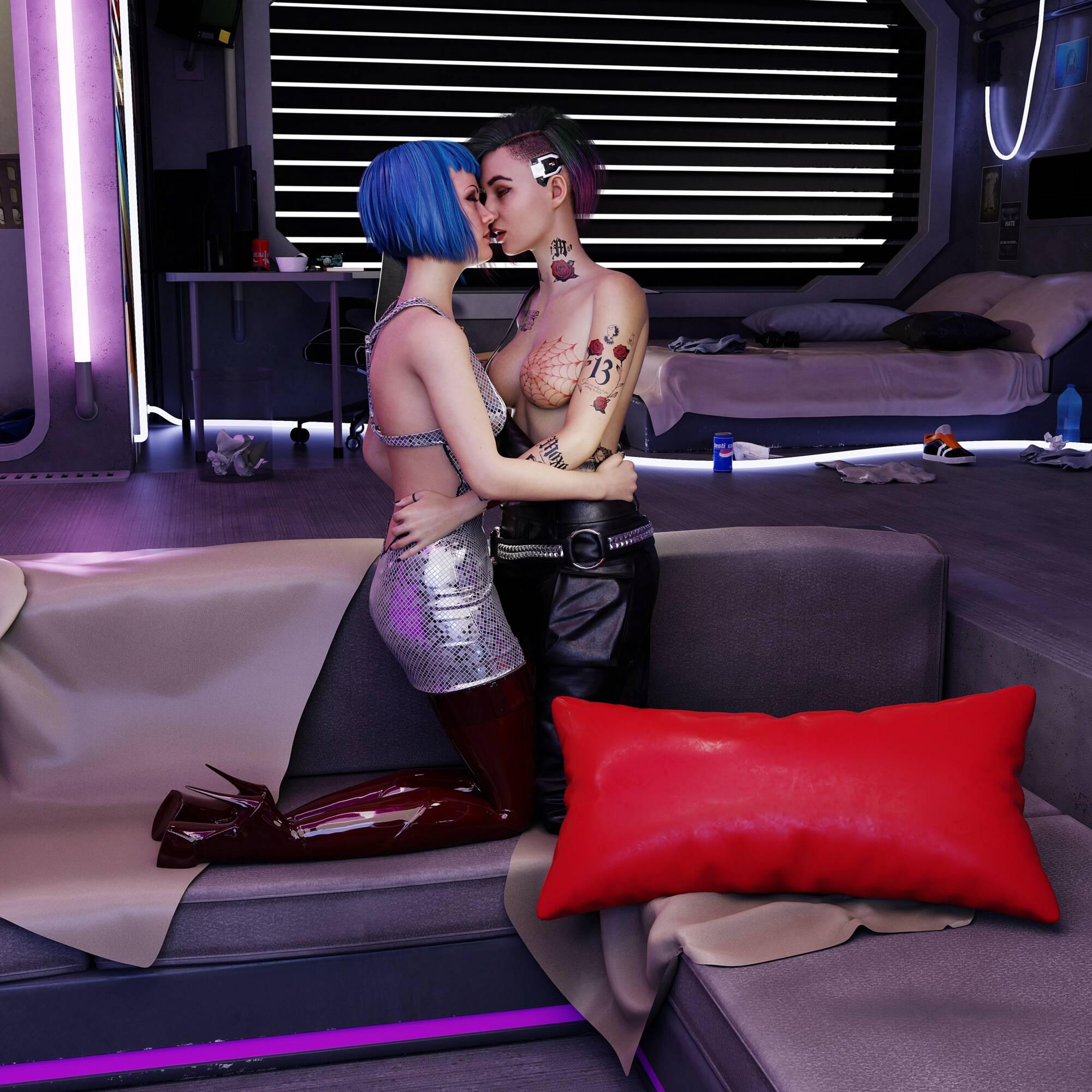 Judy&Evelyn - page02 Cyberpunk 2077,  xxx porn rule34