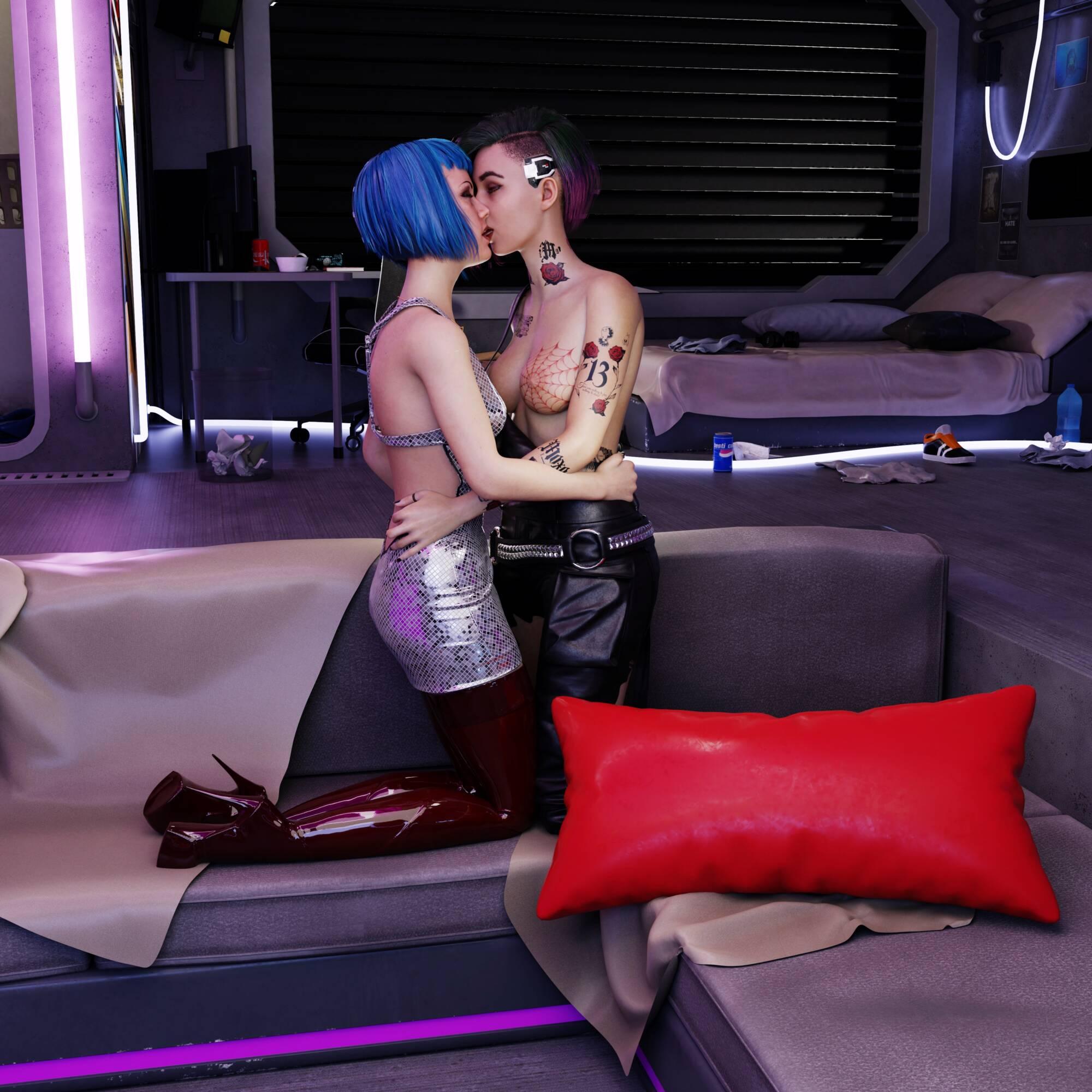 Judy&Evelyn - page04 Cyberpunk 2077,  xxx porn rule34