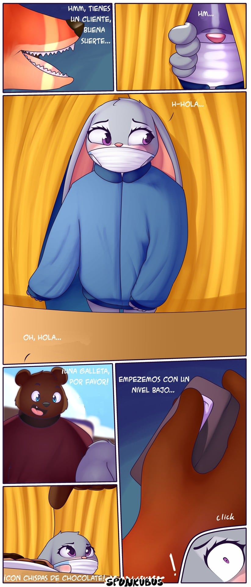 Flustered Fun Time! (Spanish) - page03 Zootopia,  xxx porn rule34