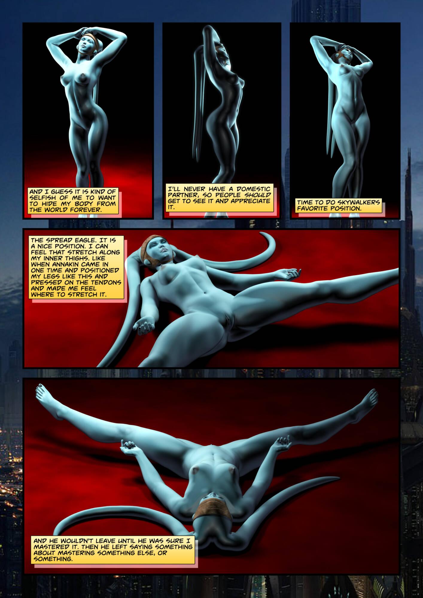 Penny Lustfuls 1 - Yoda Yoga (English) - page04 Star Wars,  xxx porn rule34