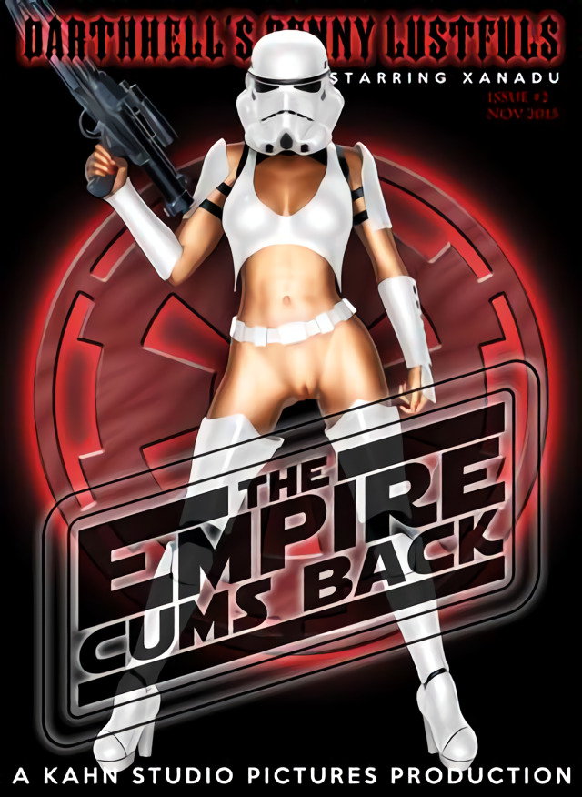 Penny Lustfuls 2 - The Empire Cums Back (English) - page00 Cover Star Wars,  xxx porn rule34