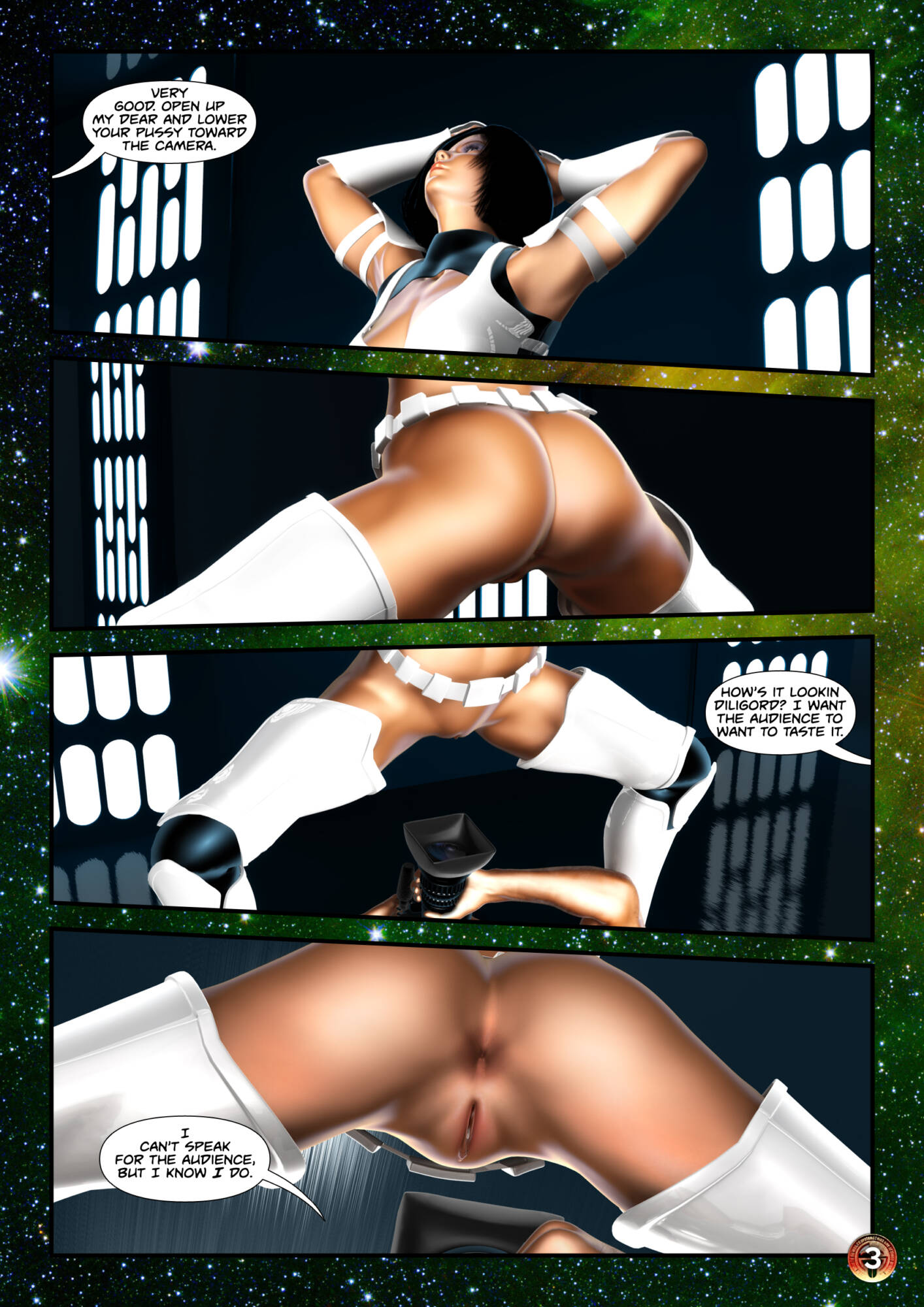 Penny Lustfuls 2 - The Empire Cums Back (English) - page03 Star Wars,  xxx porn rule34