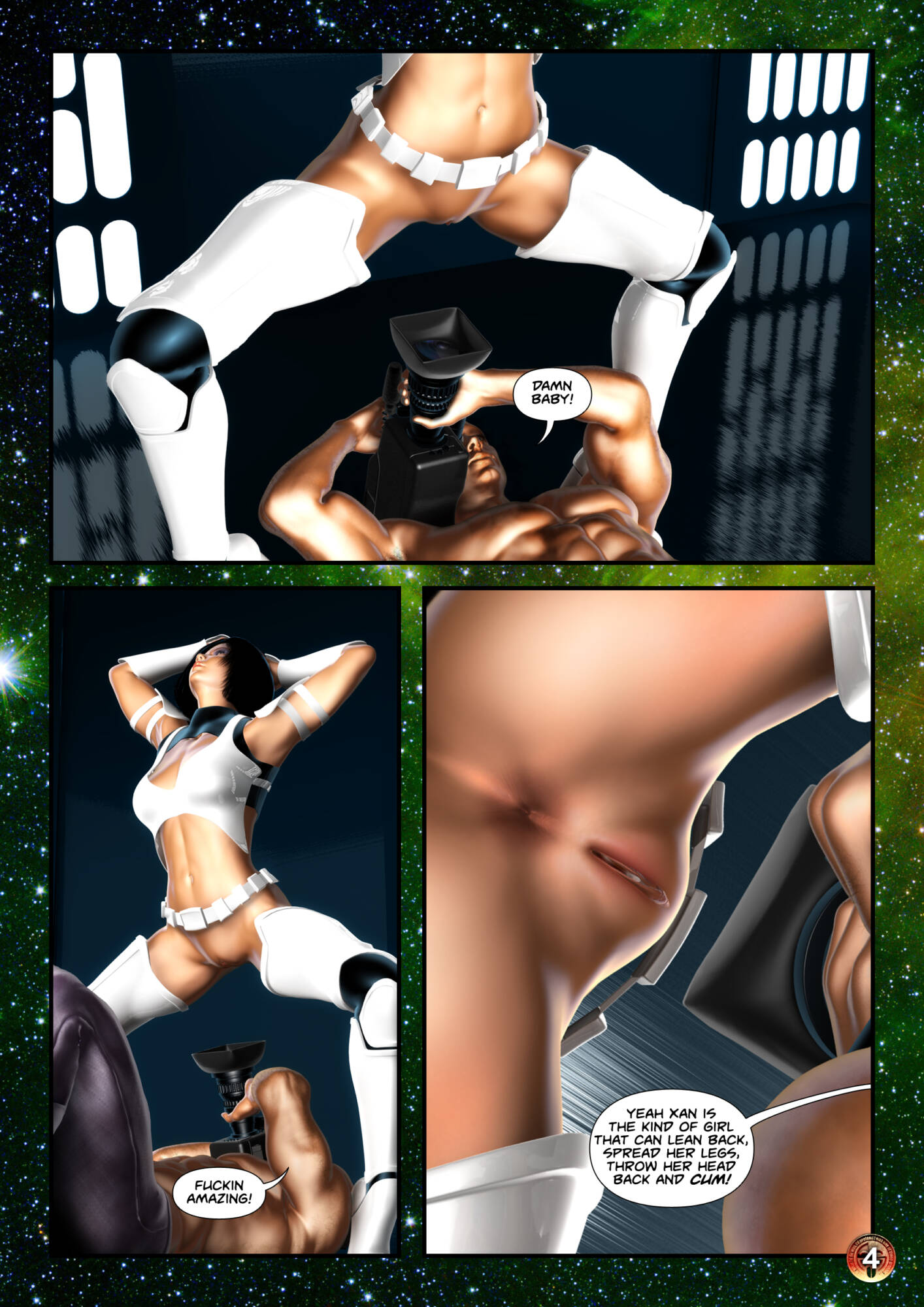 Penny Lustfuls 2 - The Empire Cums Back (English) - page04 Star Wars,  xxx porn rule34