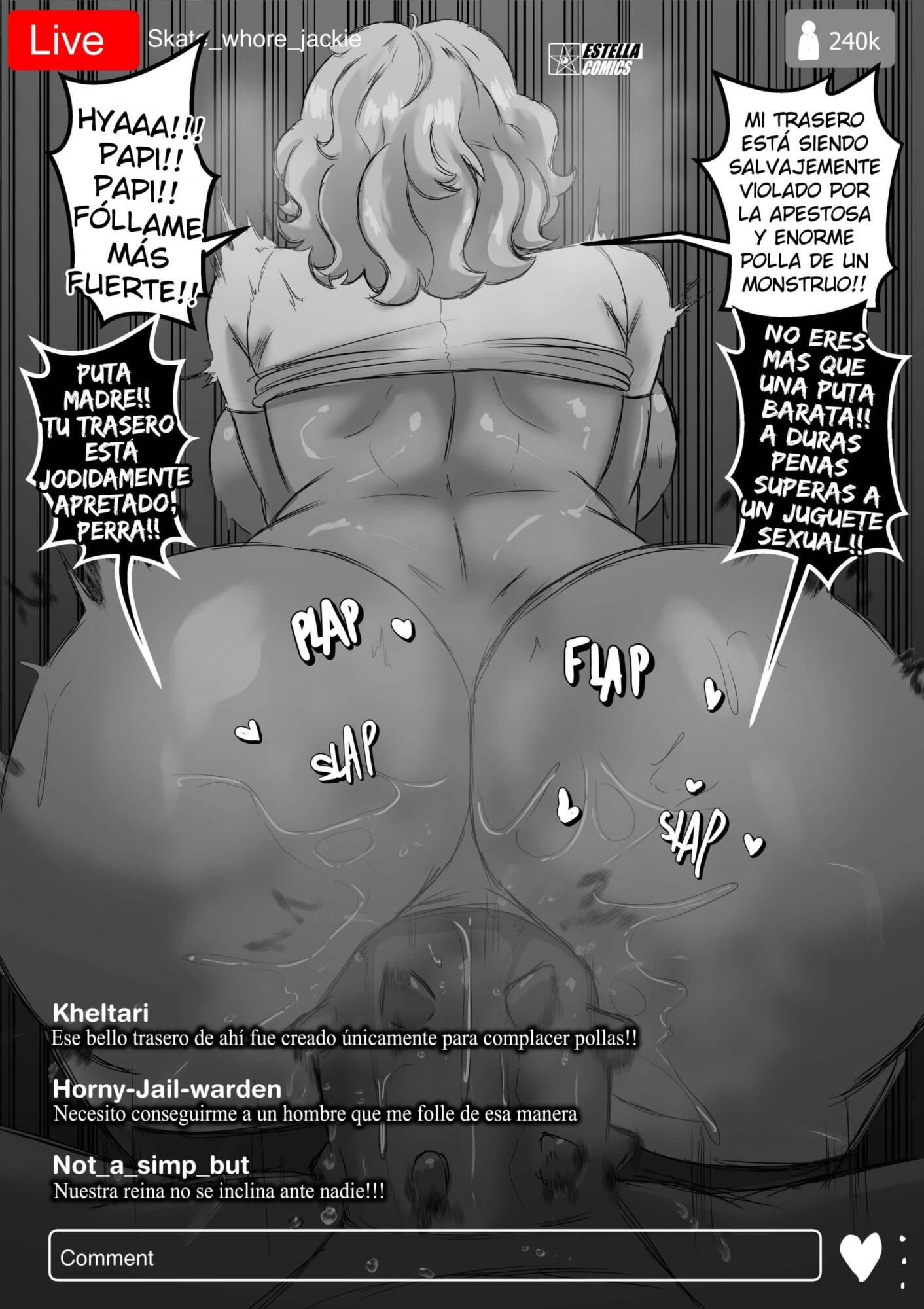 BitchStream (Spanish) - page07 Star Vs The Forces Of Evil,  xxx porn rule34
