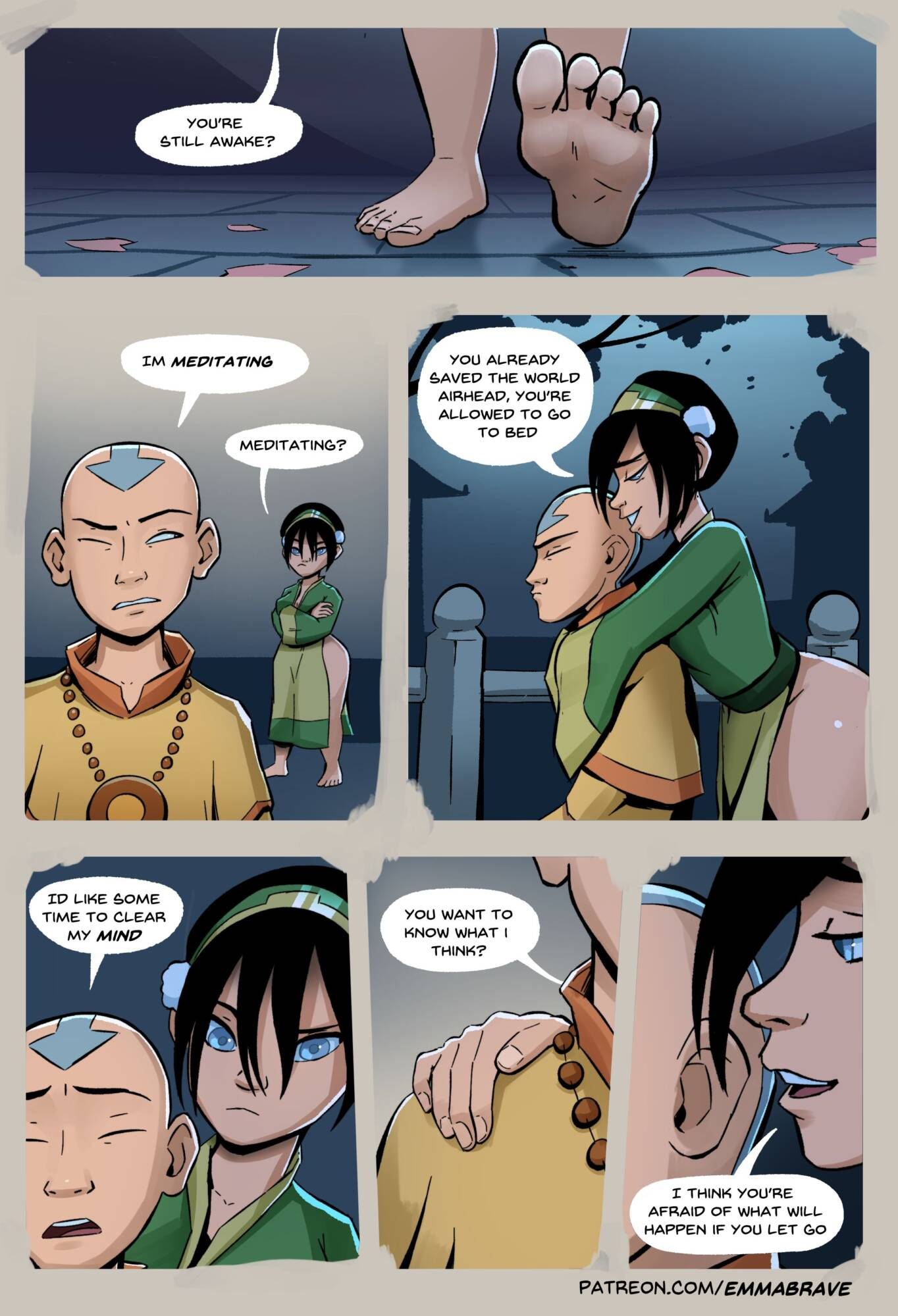 After Avatar (English) - page01 Avatar the Last Airbender,  xxx porn rule34
