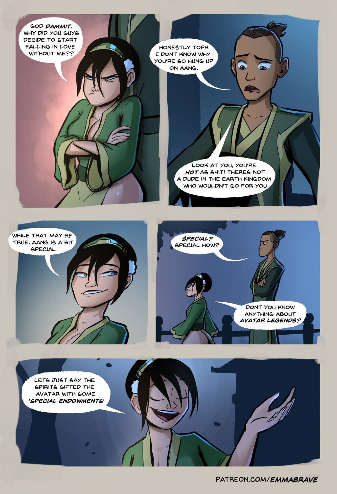 After Avatar (English) - page07 Avatar the Last Airbender,  xxx porn rule34