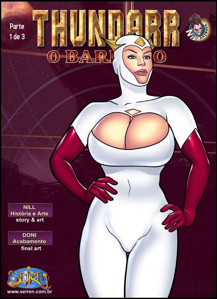 Thundarr O Barbaro #2 - Part 1 (Portuguese) - page00 Cover Thundarr The Barbarian,  xxx porn rule34