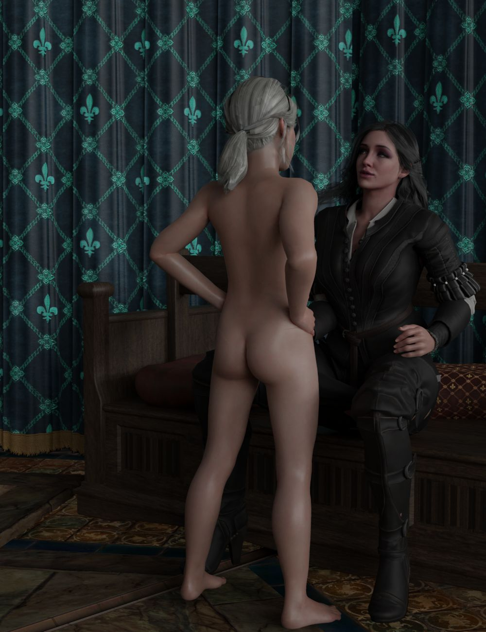 Young Ciri x Yennefer - page04 Witcher,  xxx porn rule34
