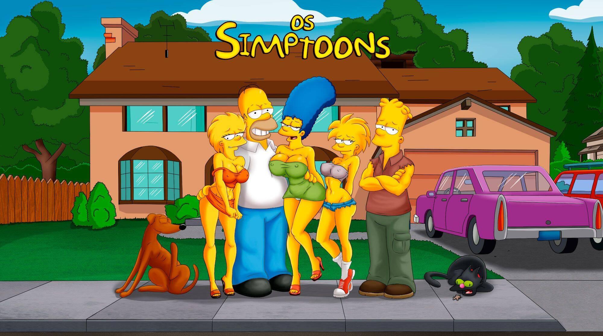 Os Simptoons 32 (Portuguese) - page00 Simpsons,  xxx porn rule34