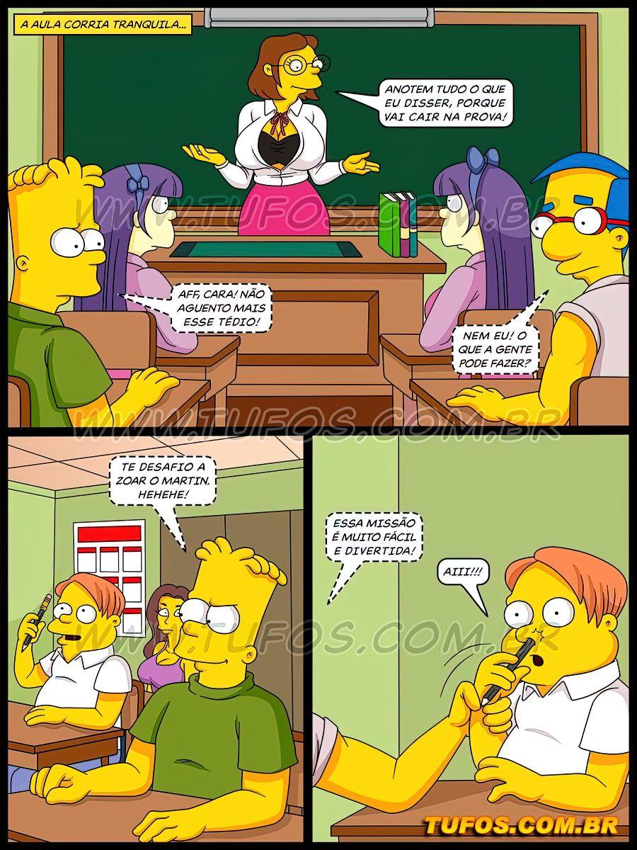 Os Simptoons 32 (Portuguese) - page01 Simpsons,  xxx porn rule34
