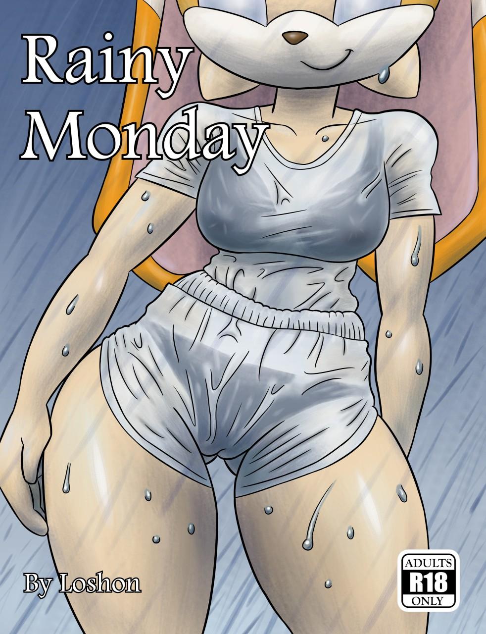 Rainy Monday (Italian) - page00 Cover Sonic,  xxx porn rule34