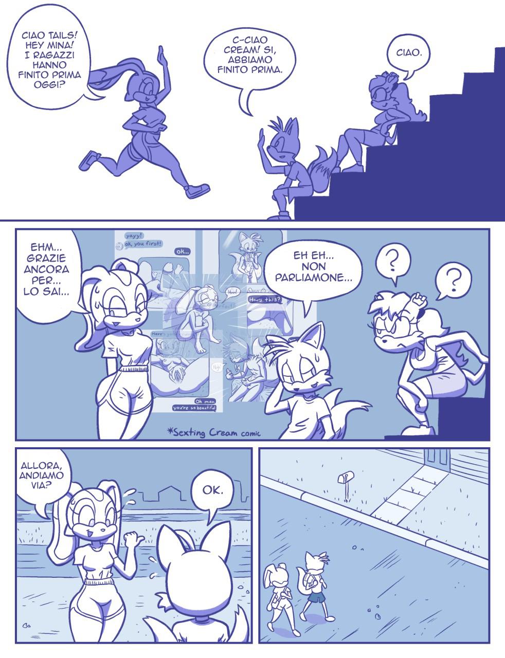 Rainy Monday (Italian) - page03 Sonic,  xxx porn rule34