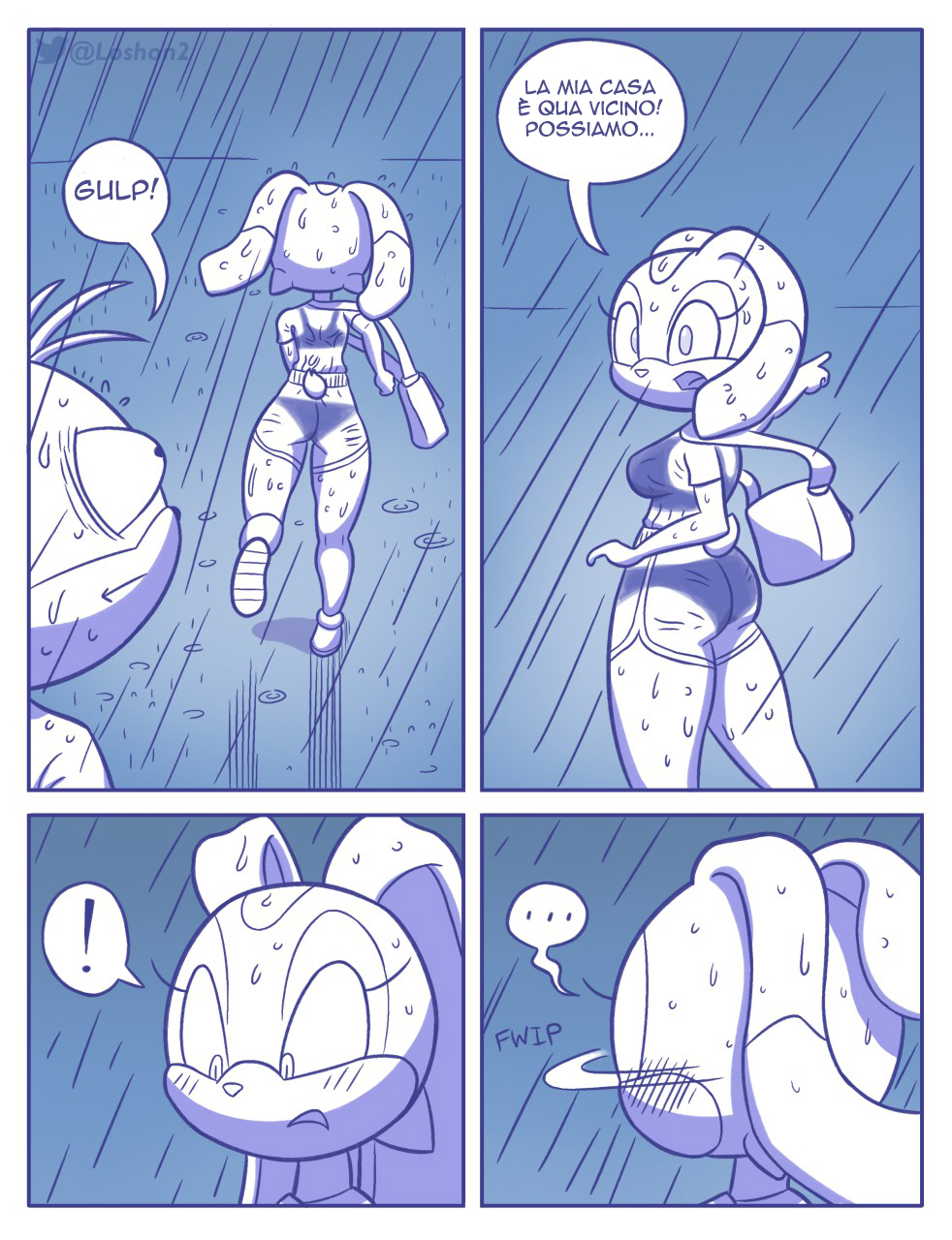 Rainy Monday (Italian) - page06 Sonic,  xxx porn rule34