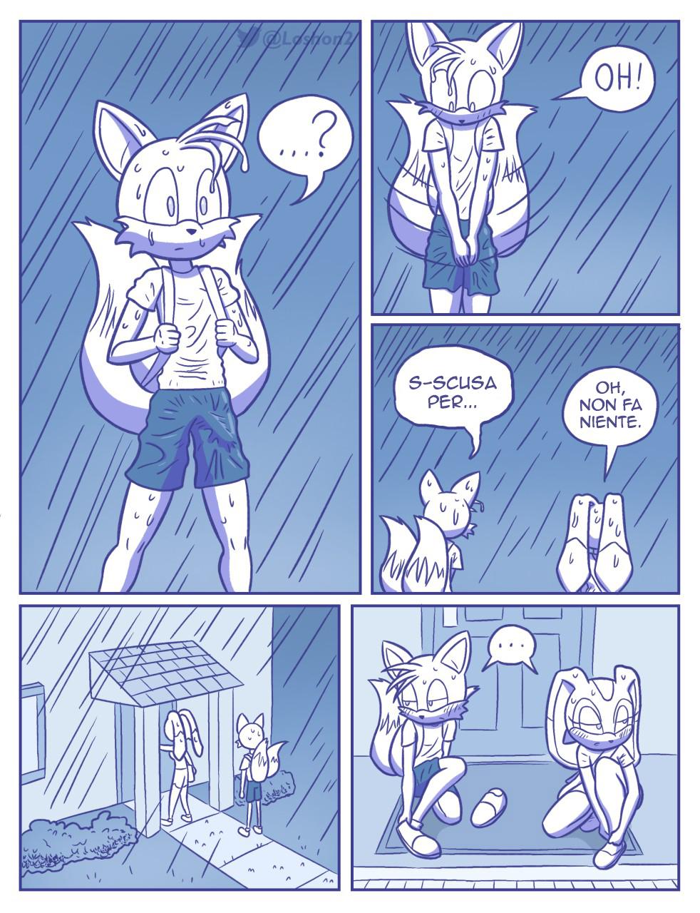 Rainy Monday (Italian) - page07 Sonic,  xxx porn rule34