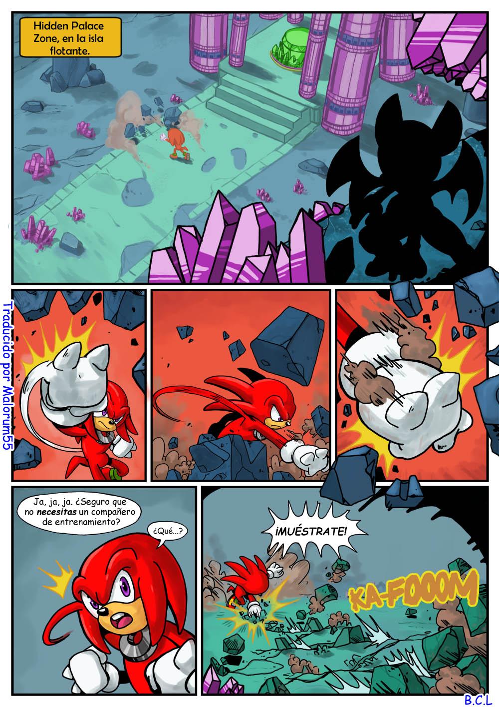 Secret Mission (Spanish) - page01 Sonic,  xxx porn rule34