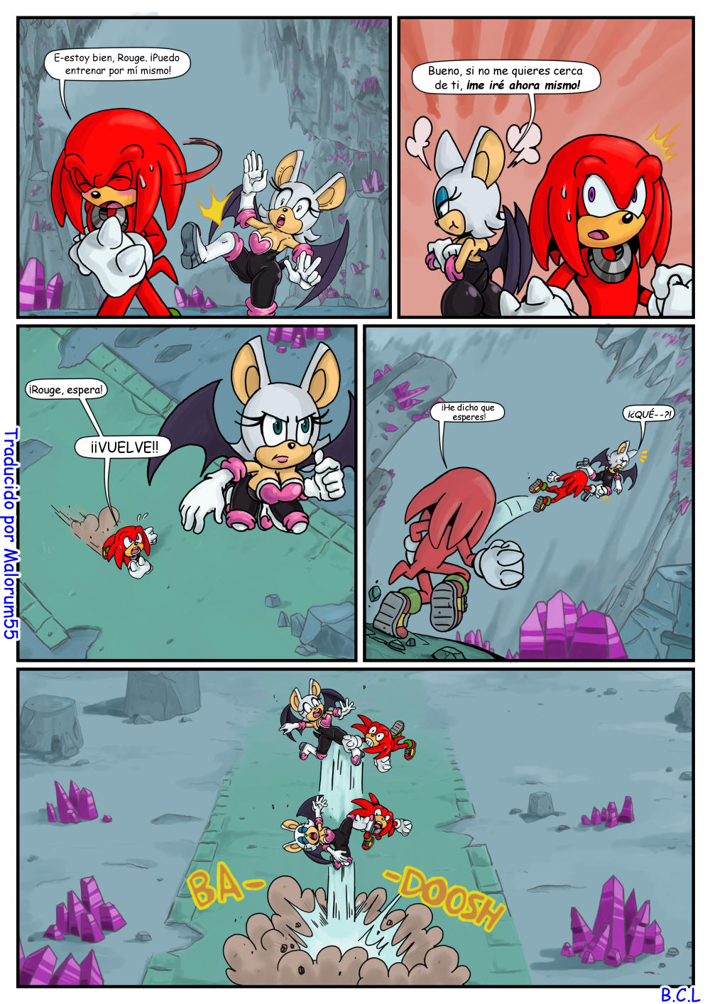 Secret Mission (Spanish) - page04 Sonic,  xxx porn rule34