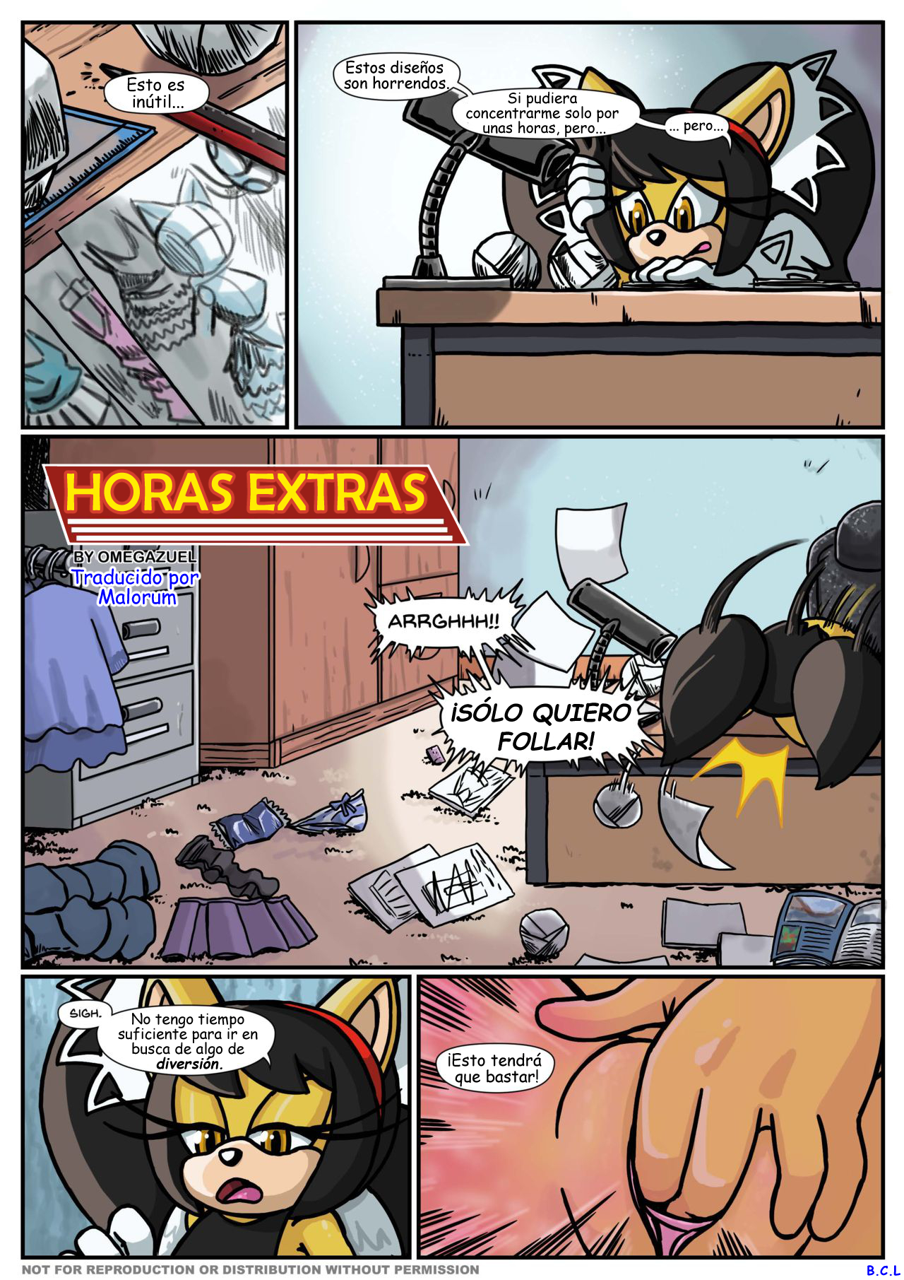 Overtime (Spanish) - page01 Sonic,  xxx porn rule34