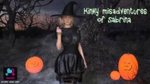 Kinky Misadventures of Sabrina (English) - page00 Cover BurnButt