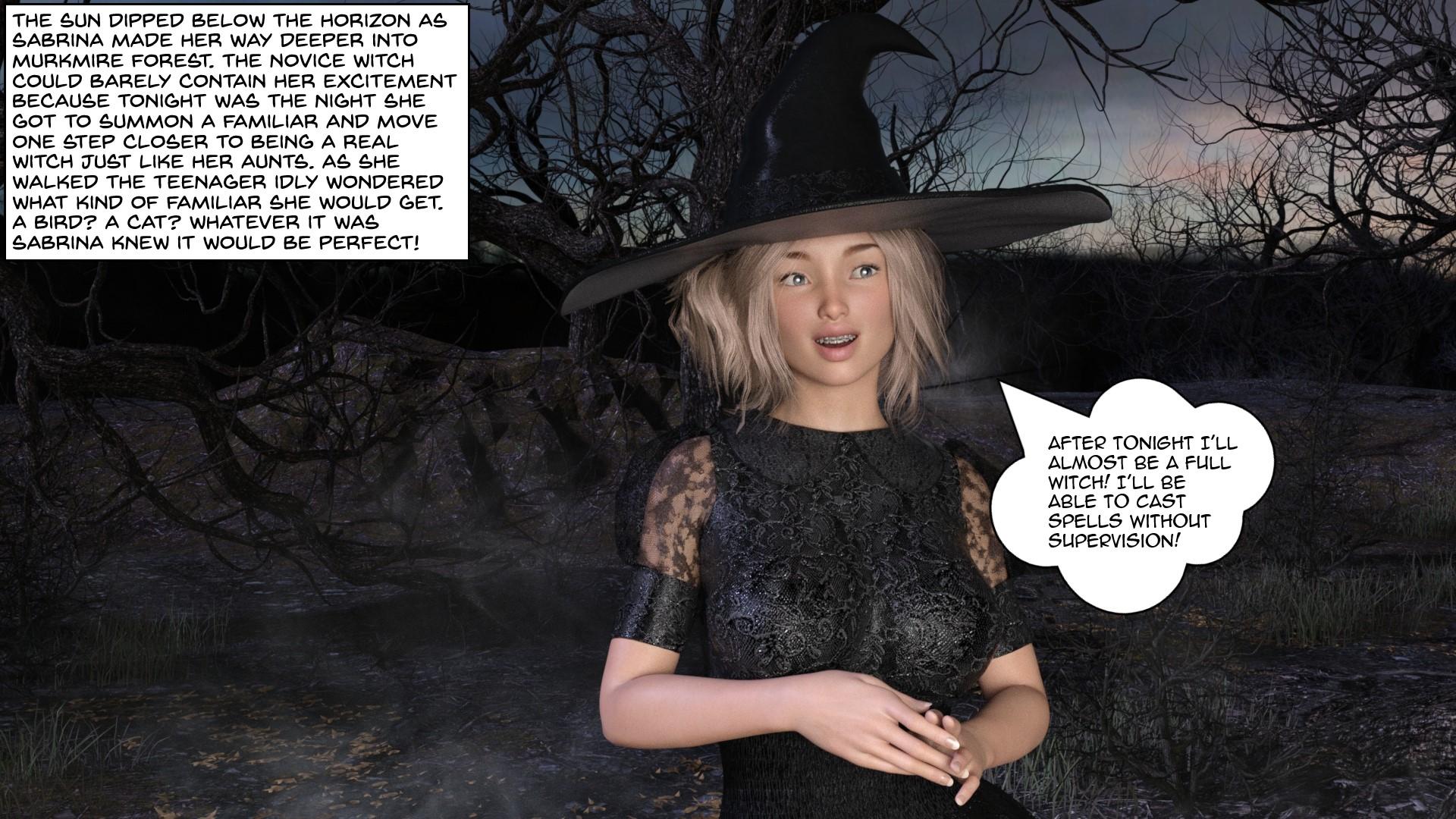 Kinky Misadventures of Sabrina (English) - page01 Archie,Sabrina the Teenage Witch,  xxx porn rule34