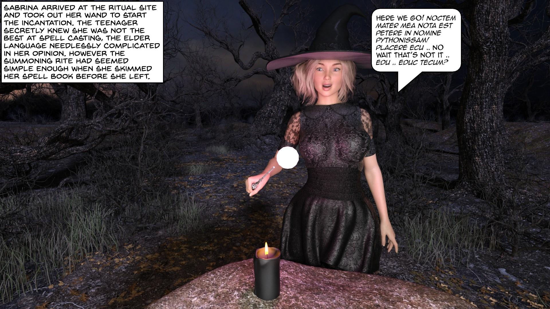 Kinky Misadventures of Sabrina (English) - page02 Archie,Sabrina the Teenage Witch,  xxx porn rule34