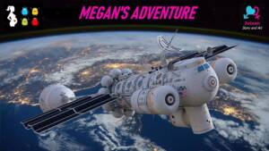 Megan's Adventure (English) - page00 Cover BurnButt
