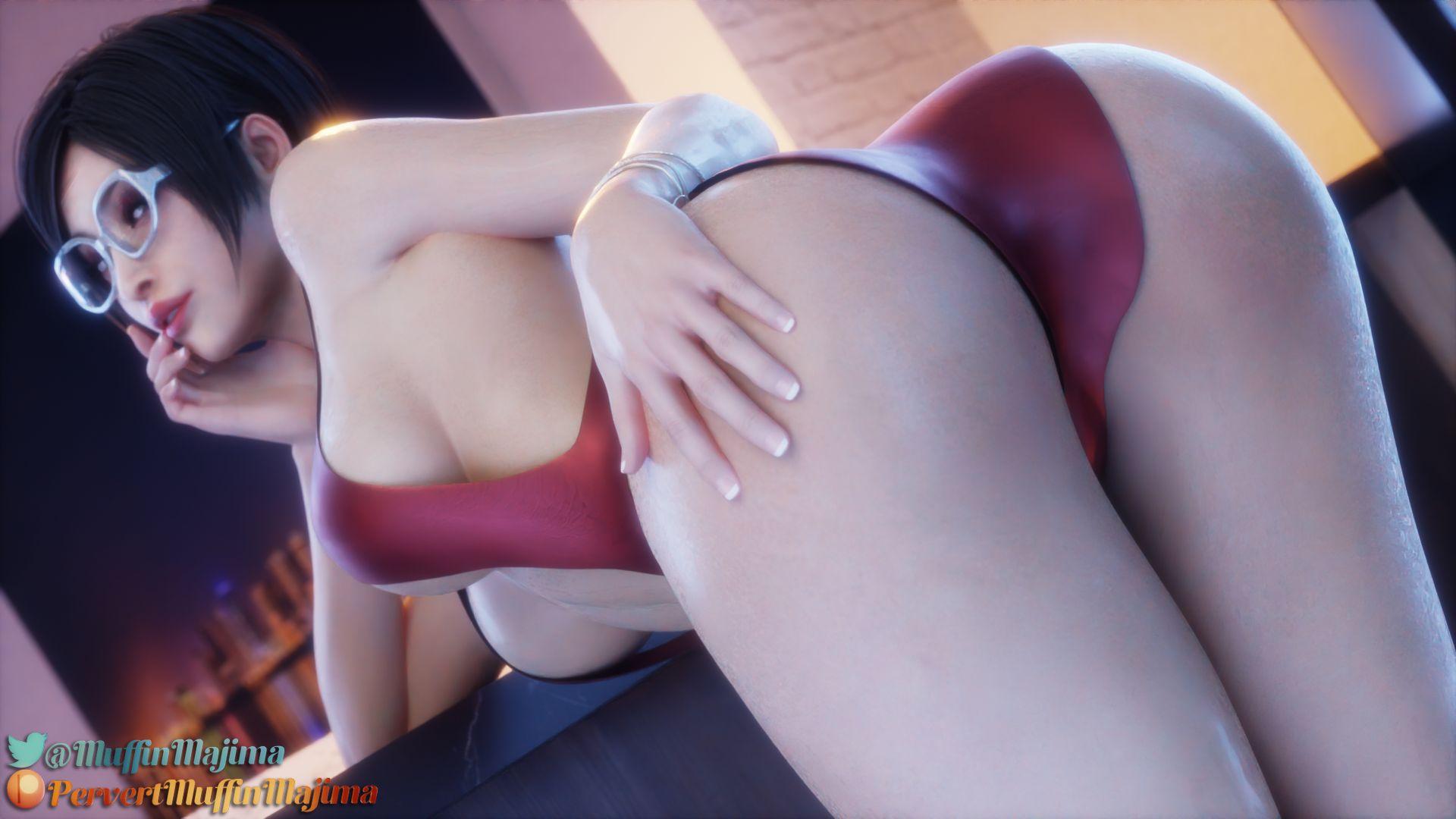 Ada Wants That D - page04 Resident Evil,  xxx porn rule34