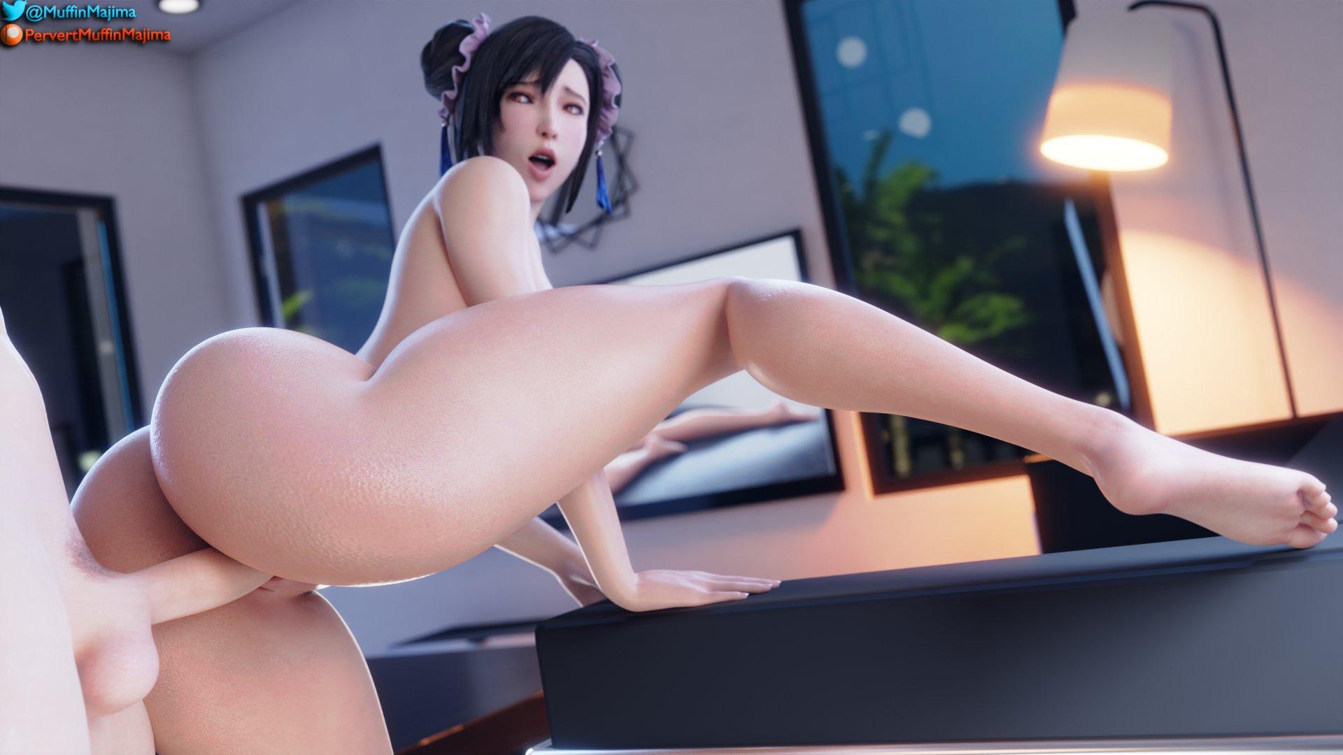 Horny Tifa (Nude) - page03 Final Fantasy,  xxx porn rule34
