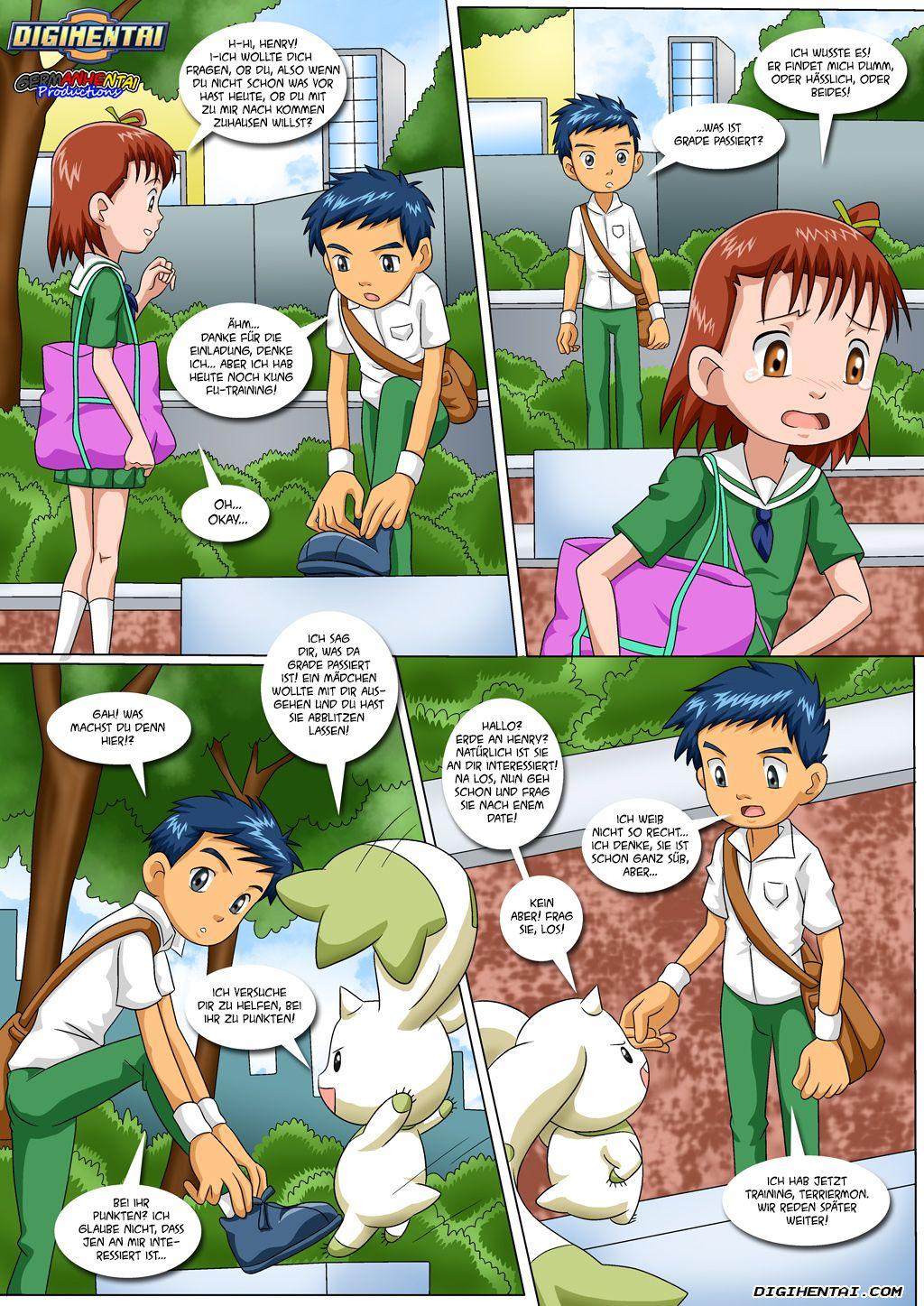 Matchmaker Terriermon (German) - page02 Digimon Adventure,  xxx porn rule34