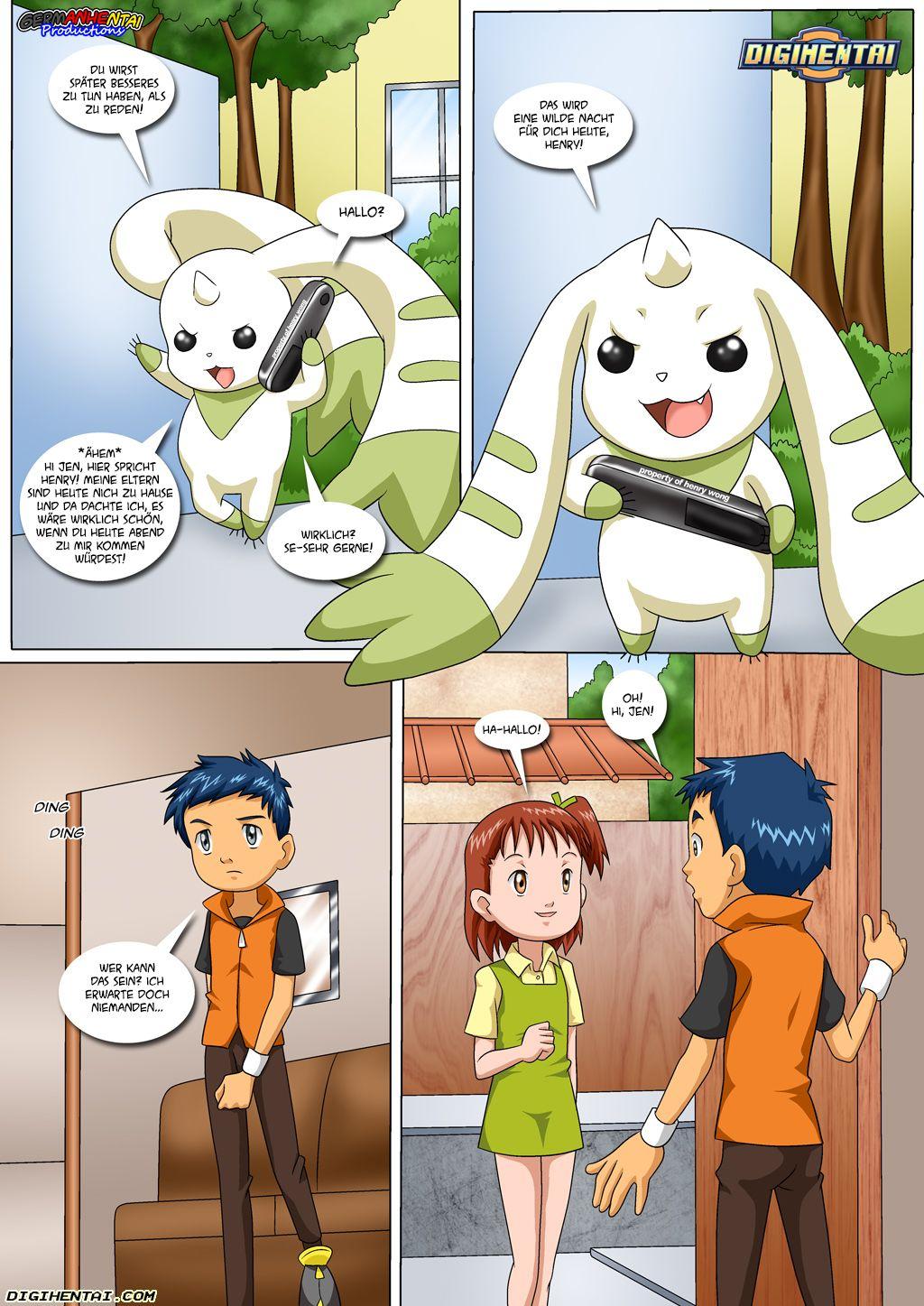 Matchmaker Terriermon (German) - page03 Digimon Adventure,  xxx porn rule34