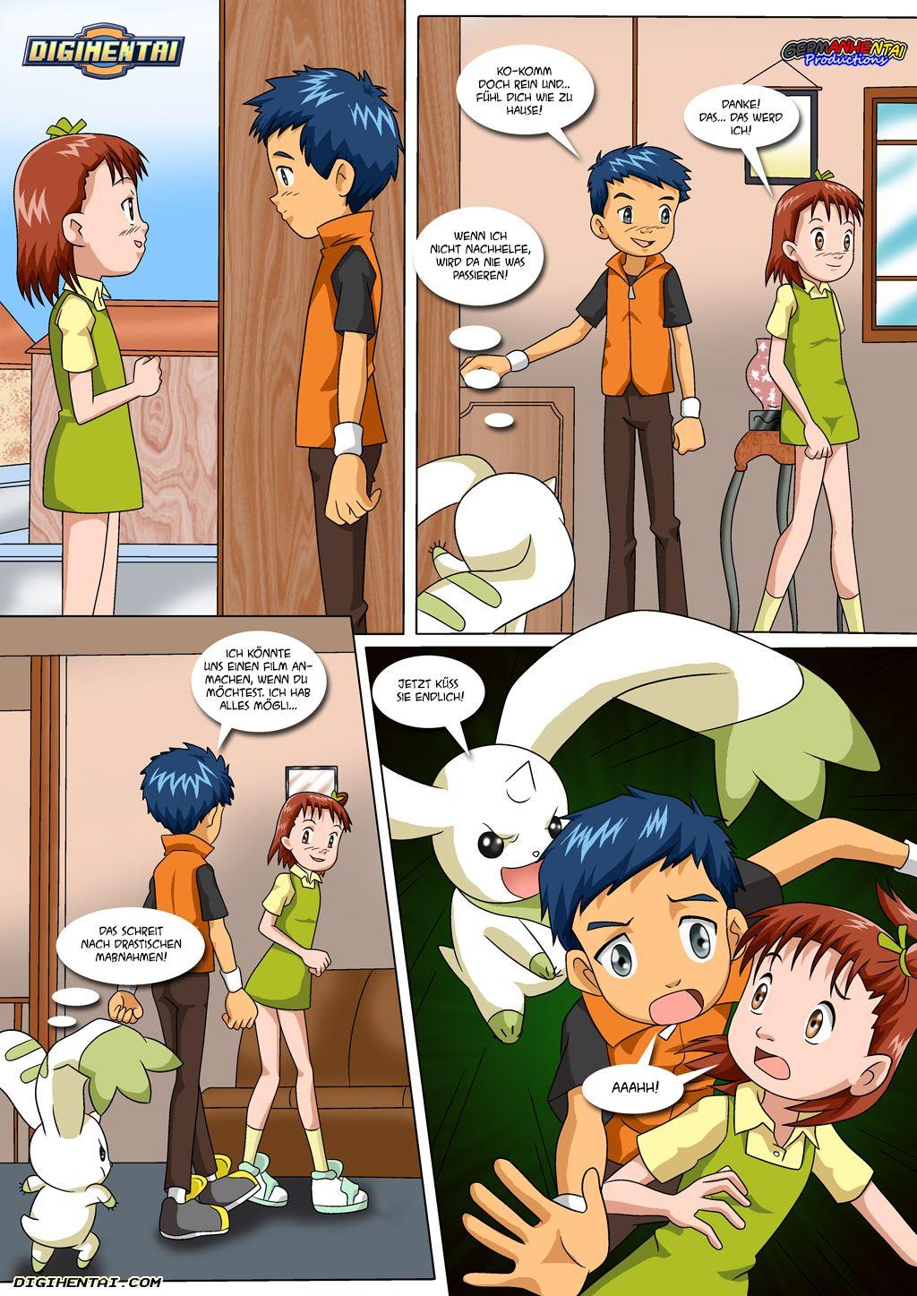Matchmaker Terriermon (German) - page04 Digimon Adventure,  xxx porn rule34