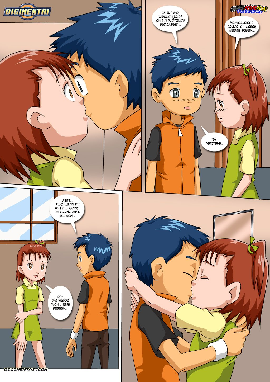 Matchmaker Terriermon (German) - page05 Digimon Adventure,  xxx porn rule34